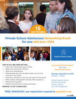 Private School Admissions Networking Event