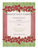 Holiday and Christmas Party Catering
