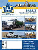 EQUIPMENT AUCTION! FEATURING INDUSTRIAL & TRANSPORT EQUIPMENT