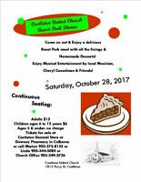 Castleton United Church Roast Pork Fundraising Dinner