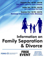 Information on Family Separation and Divorce - Brampton