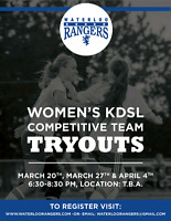 Waterloo Rangers Competitive Team Tryouts