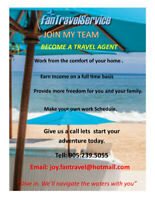 Travel Consultant Wanted!!!