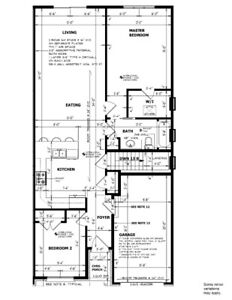 Brand New full House Rent at Welland Jan1st onwards only $1500