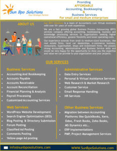 AFFORDABLE Accounting & Bookkeeping  Services for Small Business