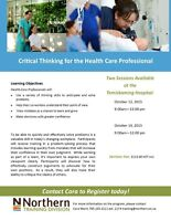 Critical Thinking for Health Care Professional- N.College