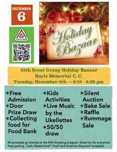 45th Scout Group Holiday Bazaar London Ontario image 4