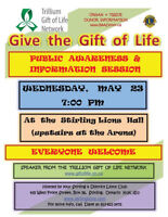 Trillium Gift of Life Information Session