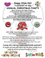 DOGGY STYLE DELI  Annual Christmas PAWTY