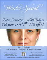 Botox and Fillers Promotion