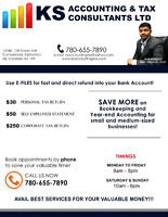 $250 CORPORATE TAX RETURNS & $30 PERSONAL TAX(LICENSED BUSINESS)