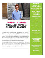 ~Music Lessons - Guitar, Piano, & More by Professional Musician~