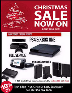 Get Professional Guaranteed Repair services Xbox one, XBOX 360