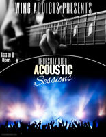 Acoustic Sessions Thursday Nights Open Stage