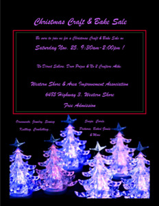 Christmas Craft Show & Bake Sale