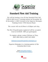 Standard First Aid & CPR/AED Training