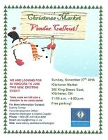 NEED VENDORS  for Kidney Christmas Market
