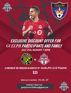 TFC Tickets July 31st 2016