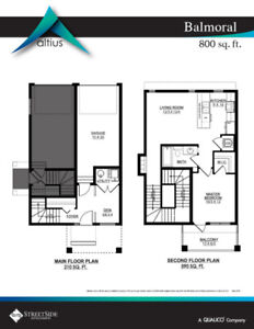 BRAND NEW TOWNHOME FOR $204,600!!!