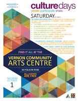 FREE WORKSHOPS for Culture Days!
