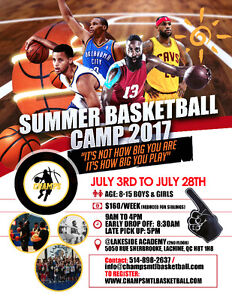 CHAMPS BASKETBALL Camp West Island Greater Montréal image 1