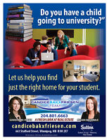 Let Us Help You Find a Home For Your Student!