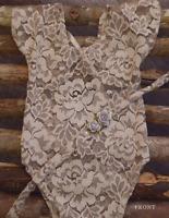 Newborn lace romper photography prop