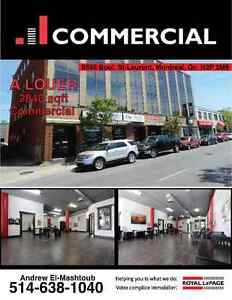 Local Commercial A LOUER 8595 ST-LAURENT 2840 Pi2 FOR LEASE