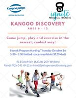 Kangoo Discovery (Kids and Kids with Autism Fitness Program)