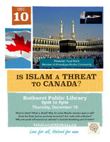 Is ISLAM a THREAT to Canada?