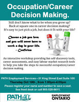 Decided on a career and need help making a good decision?