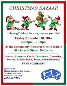 Vendors / Crafters / Artists / Creators Needed Belleville Belleville Area image 1