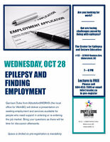 Epilepsy and Finding Employment