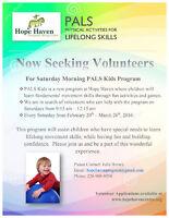 Volunteers Needed for Special Needs Children's Program