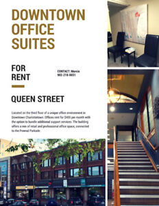 Downtown Office Suites -- Charlottetown, PE