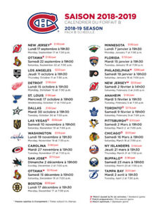 Montreal Canadiens Tickets for Sale