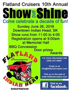 Show and Shine Indian Head June 26th