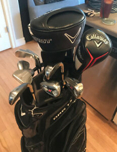 PERFECT FOR FATHERS DAY CALLAWAY  LEFT HANDED  GOLF CLUBS