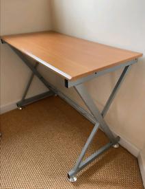 Office desk. Computer desk. Table