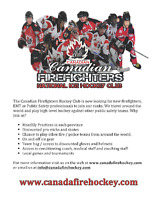 Looking for More First Responders that want to play Hockey!