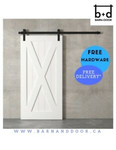 BARN DOOR SETS – $350 TO $550 (DOOR + HARDWARE)