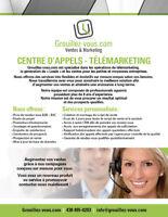 Multipliez vos ventes grâce à notre centre d'appel !