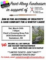 PAINT-ALONG FUNDRAISER FOR CROHN'S AND COLITIS