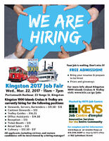 Kingston Thousand Islands Cruises and Trolley Tours is Hiring