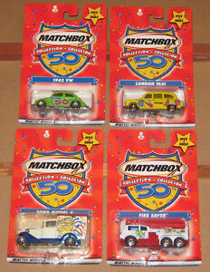 50Th anniversary limited edition Matchbox set.