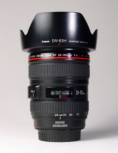 Canon 24-105mm L  f4 IS USM
