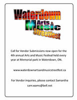 Call for Vendors now Open