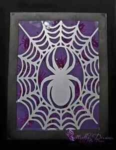 Halloween Spider Shadow Box  Peterborough Peterborough Area image 1