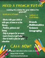 Looking for a French tutor?