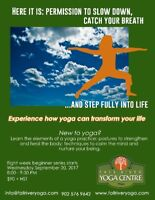 Eight Week Beginner Yoga Series with John and Michelle